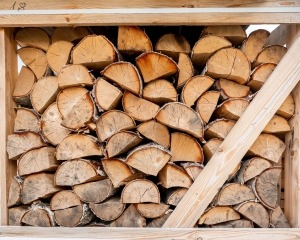 Brennholz Anwendung